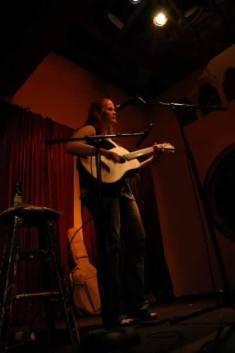Breanna performing