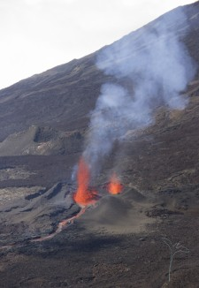 20160914 - Eruption - Piton de La Fournaise