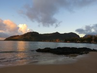 Early in the morning on Kauai